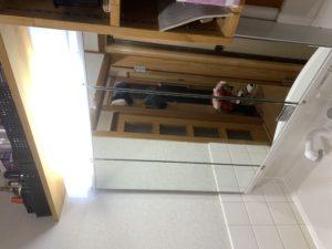 洗面化粧台 三面鏡