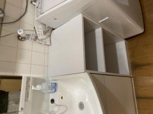 洗面化粧台 隙間収納
